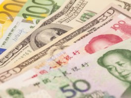 Wibest – Currency: Dollar, Yuan and Euro notes.